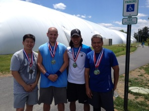 MCTA Doubles Men winners